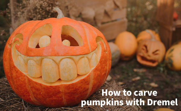 How to Carve pumpkins with Dremel